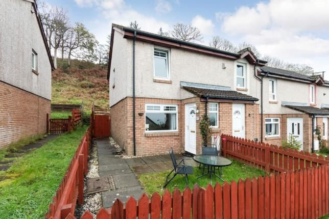 Thumbnail Terraced house for sale in Woodcroft Avenue, Largs, North Ayrshire, Scotland