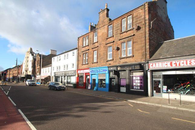 Thumbnail Flat for sale in 83, Main Street, Flat B, Ayr Town Centre KA88Bu