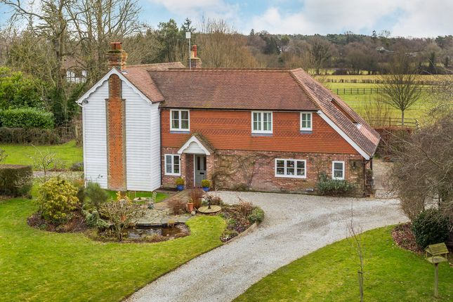 Thumbnail Detached house for sale in Pootings Road, Crockham Hill
