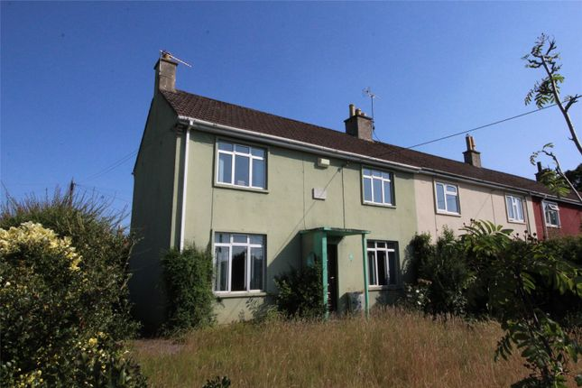 Thumbnail End terrace house for sale in Tiledown, Temple Cloud, Bristol, Avon