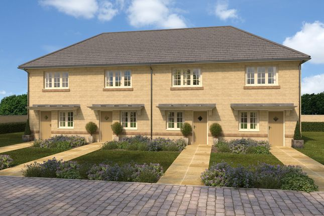 Thumbnail Terraced house for sale in Manor Fields, Thornhill Road, Keighley, West Yorkshire