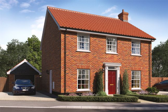 Thumbnail Detached house for sale in Plot 27 Heronsgate, Blofield, Norwich, Norfolk