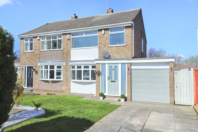 3 bed semi-detached house for sale in Hawthorn Crescent, Marton-In-Cleveland, Middlesbrough TS7