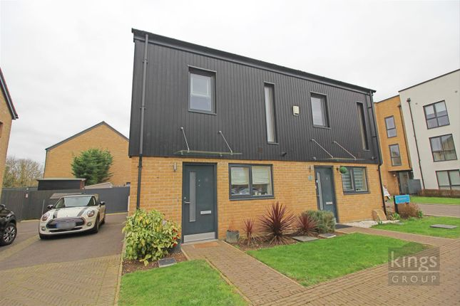 2 bed semi-detached house for sale in Redwing Way, Newhall, Harlow CM17