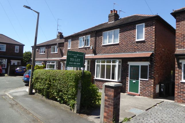 Thumbnail Semi-detached house to rent in Frome Avenue, Stockport