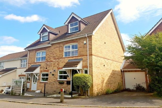 Thumbnail Property to rent in Jessica Crescent, Totton, Southampton