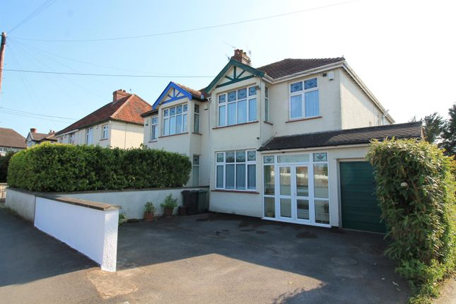 Thumbnail Semi-detached house for sale in Ham Green, Pill, North Somerset