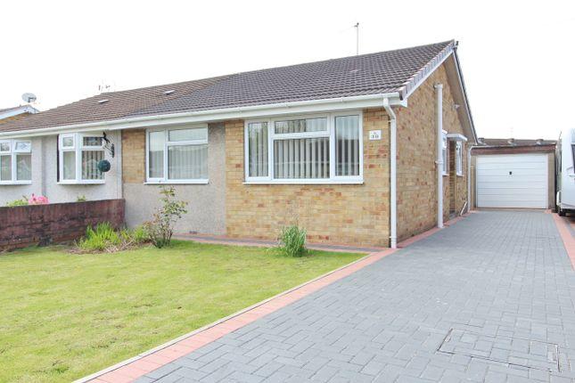 Thumbnail Semi-detached bungalow for sale in Eastmoor Road, Newport