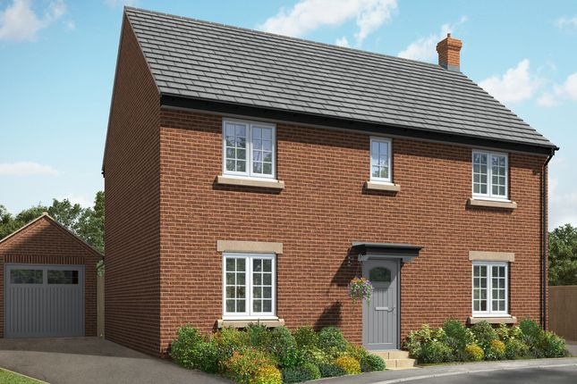 "Thumbnail Detached house for sale in ""The Helpston"" at Hill Top Close, Market Harborough"