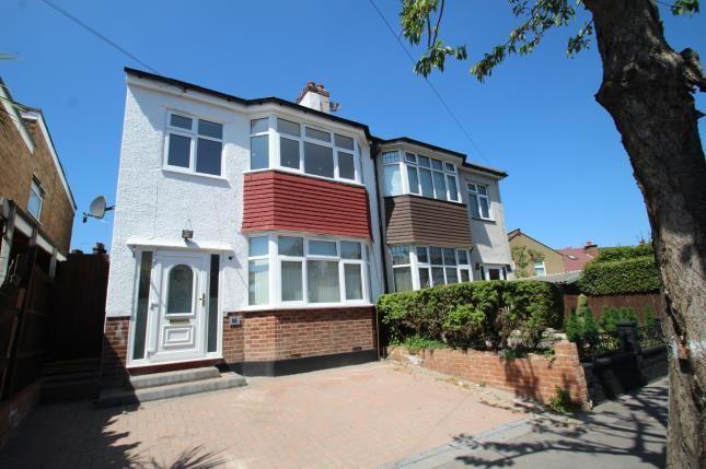 Thumbnail Semi-detached house for sale in Waddon Park Avenue, Croydon, Surrey