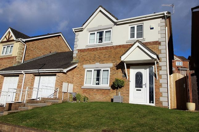 Thumbnail Link-detached house for sale in Gwern Heulog, Tonyrefail, Porth, Rhondda, Cynon, Taff.