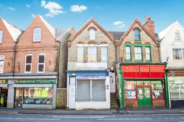 Thumbnail Terraced house for sale in Cheriton High Street, Folkestone, Kent, United Kingdom