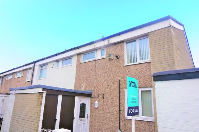 Thumbnail End terrace house for sale in Barons Hey, Liverpool