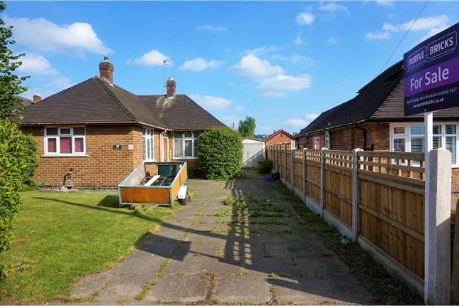Thumbnail Detached bungalow for sale in Sandfield Road, Nottingham