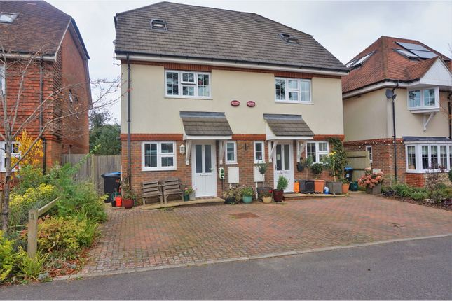 Thumbnail Semi-detached house for sale in Stanstead Close, Caterham