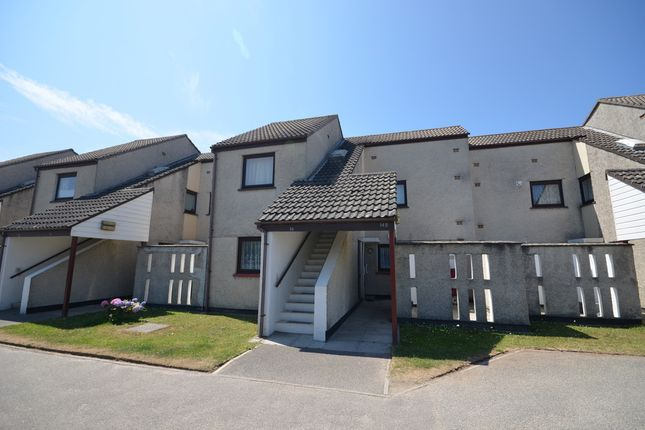 Thumbnail Flat for sale in Station Road, Perranporth
