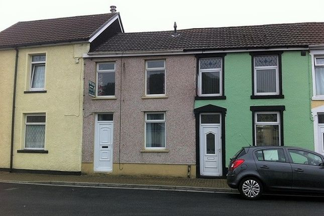 Thumbnail Terraced house to rent in Thurston Road, Trallwn, Pontypridd