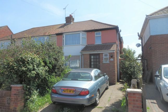 Thumbnail Semi-detached house for sale in Valley Road, Dovercourt
