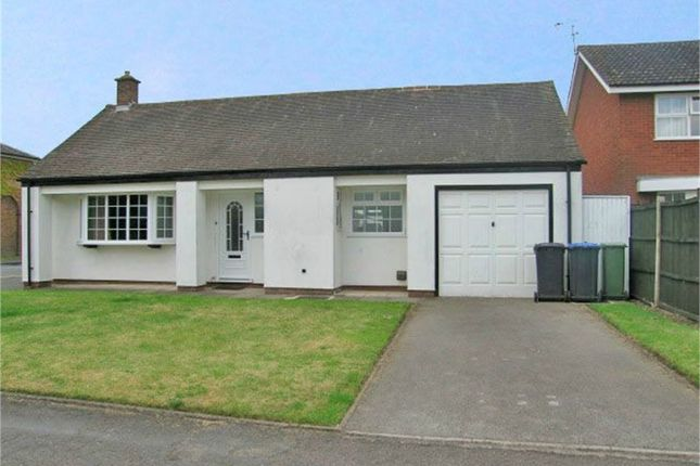 Thumbnail Detached bungalow to rent in Sandford Way, Dunchurch, Rugby, Warwickshire