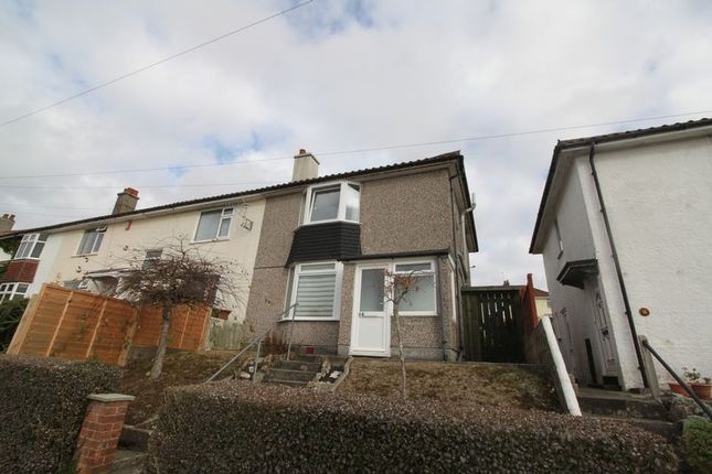 Thumbnail Semi-detached house to rent in Churchill Way, Peverell, Plymouth