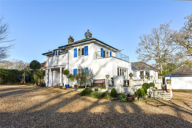 Thumbnail Detached house for sale in Wainsford Road, Pennington, Lymington, Hampshire