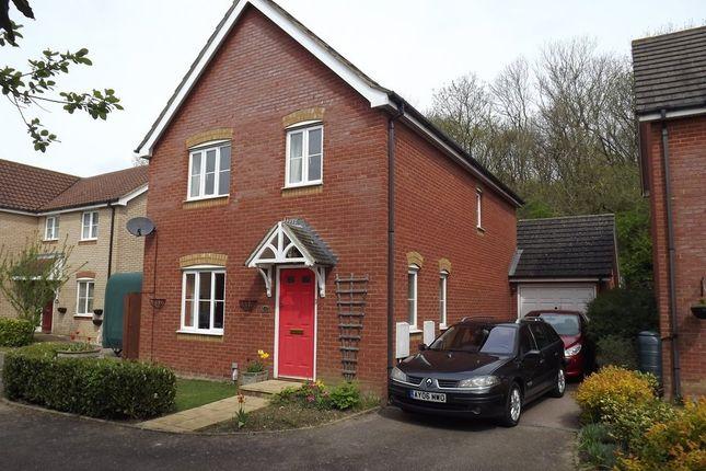 Thumbnail Detached house for sale in Keats Close, Saxmundham