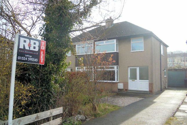 Thumbnail Semi-detached house to rent in Ruskin Grove, Bolton Le Sands, Carnforth