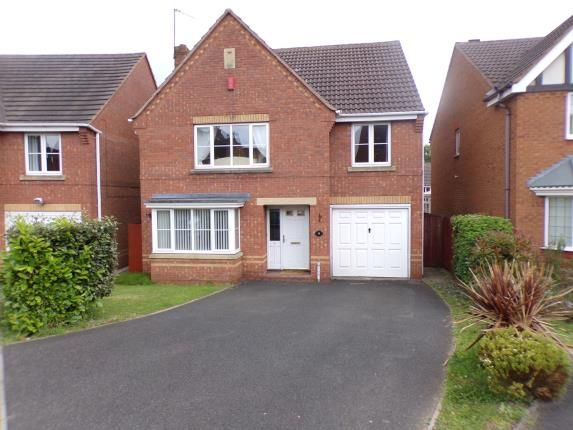 Thumbnail Detached house for sale in The Limes, Walsall, West Midlands