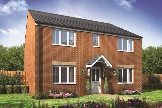 "Thumbnail Detached house for sale in ""The Hadleigh"" at Beccles Road, Bradwell, Great Yarmouth"