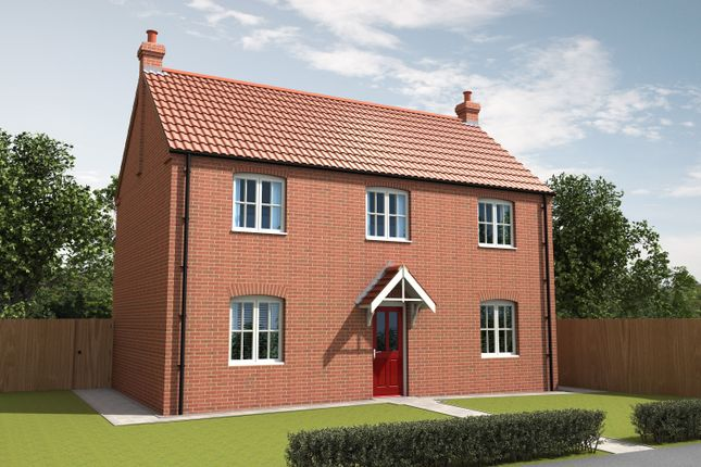 Thumbnail Detached house for sale in Curtis Drive, Coningsby, Lincolnshire