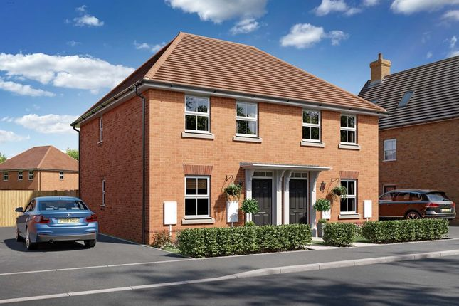 """Thumbnail Semi-detached house for sale in """"The Lewis"""" at Wootton Road, Abingdon"""
