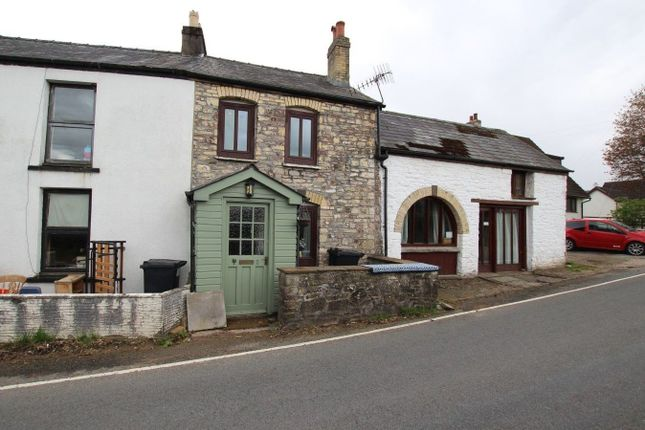 Thumbnail Terraced house for sale in Libanus, Brecon