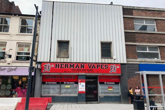 Retail premises to let in Vicar Lane, Leeds