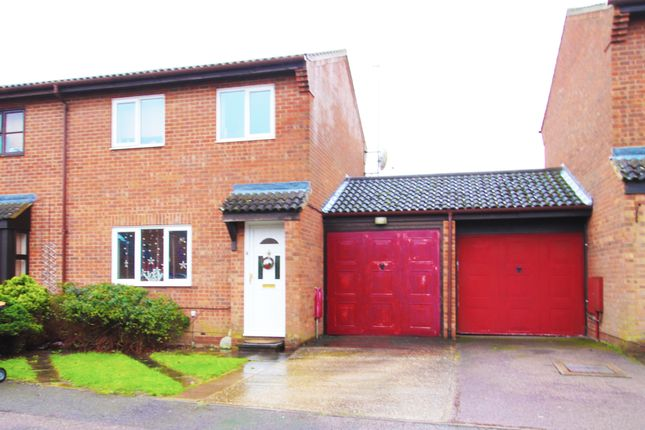 Thumbnail Semi-detached house to rent in Walcourt Road, Kempston, Bedford