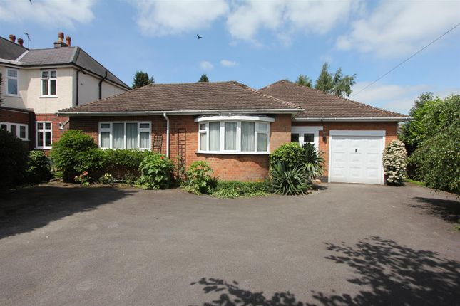 Thumbnail Detached bungalow for sale in Leicester Road, Hinckley