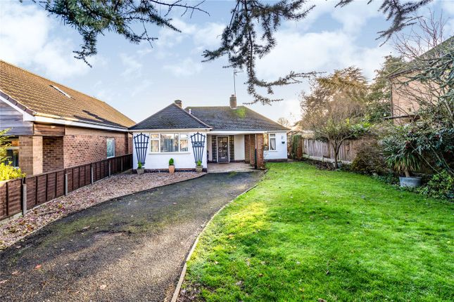 Thumbnail Bungalow for sale in The Fairway, Burbage, Hinckley, Leicestershire