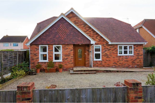 Thumbnail Detached bungalow for sale in Knightwood Close, Ashurst, Southampton