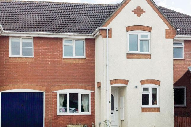 Thumbnail Terraced house to rent in Cloverfields, Gillingham