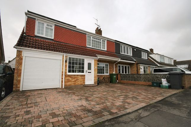 Thumbnail Semi-detached house for sale in Standish Avenue, Stoke Lodge, Bristol