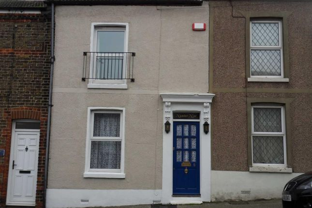 Thumbnail Terraced house for sale in Percy Road, Ramsgate