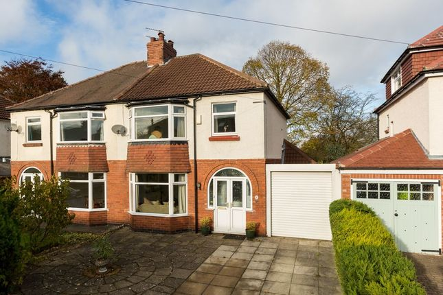Thumbnail Semi-detached house for sale in Towton Avenue, Off Mount Vale, York