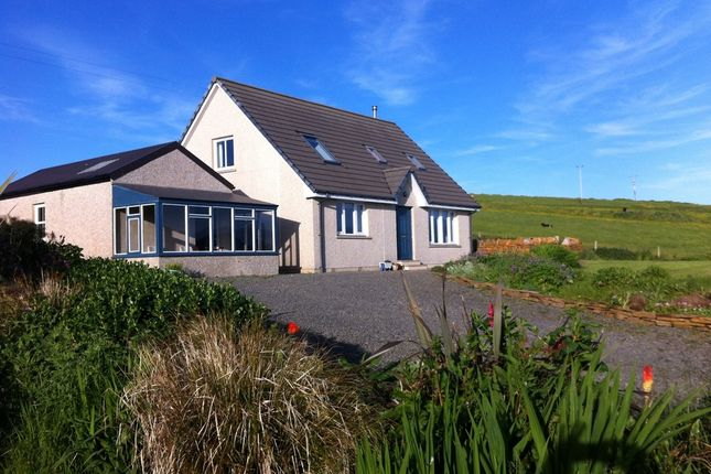 Thumbnail Detached house for sale in Stromness