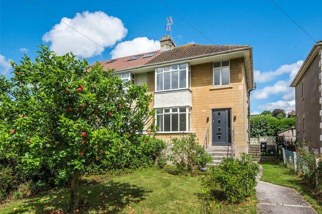 Thumbnail Semi-detached house for sale in Westfield Park South, Bath