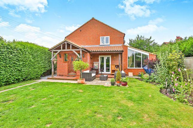 Thumbnail Semi-detached house for sale in Hall Lane, Wramplingham, Wymondham