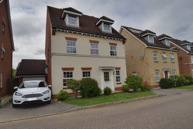 Thumbnail Detached house for sale in Chancellors, Arlesey, Bedfordshire