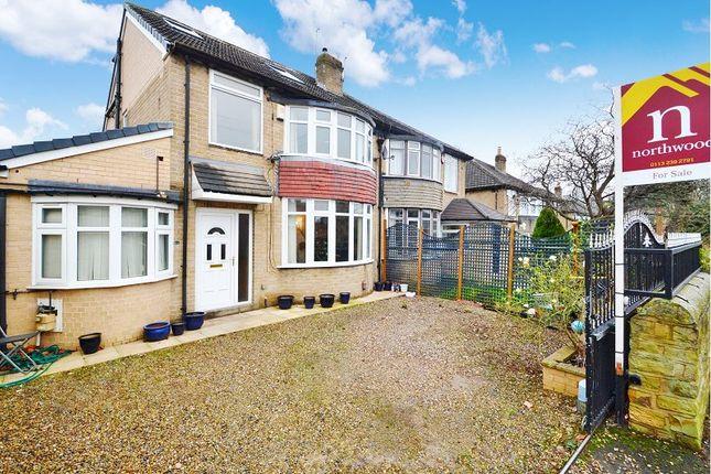 Thumbnail Semi-detached house for sale in Henconner Road, Chapel Allerton, Leeds