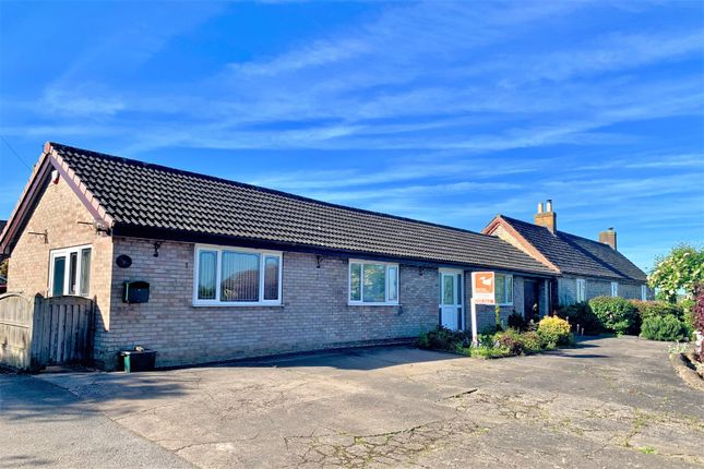 Thumbnail Detached bungalow for sale in Main Street, Croxton Kerrial, Grantham
