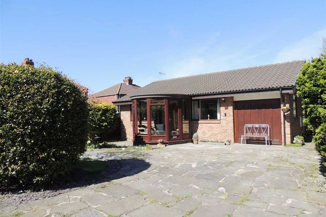 Thumbnail Detached bungalow to rent in Muirfield Avenue, Bredbury, Stockport