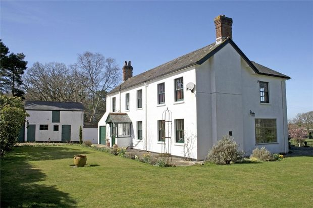 4 bed detached house for sale in Crow, Ringwood, Hampshire