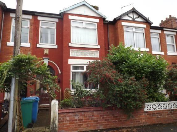 Thumbnail Terraced house for sale in Berkeley Avenue, Manchester, Greater Manchester, Uk